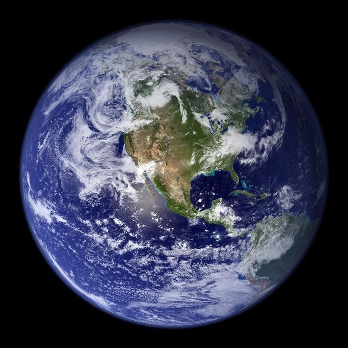 Planeta Terra (Crédito: Nasa)