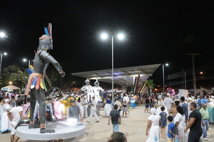 Firmino diz que Praça dos Orixás é símbolo de liberdade e respeito  (Crédito: Renato Bezerra)