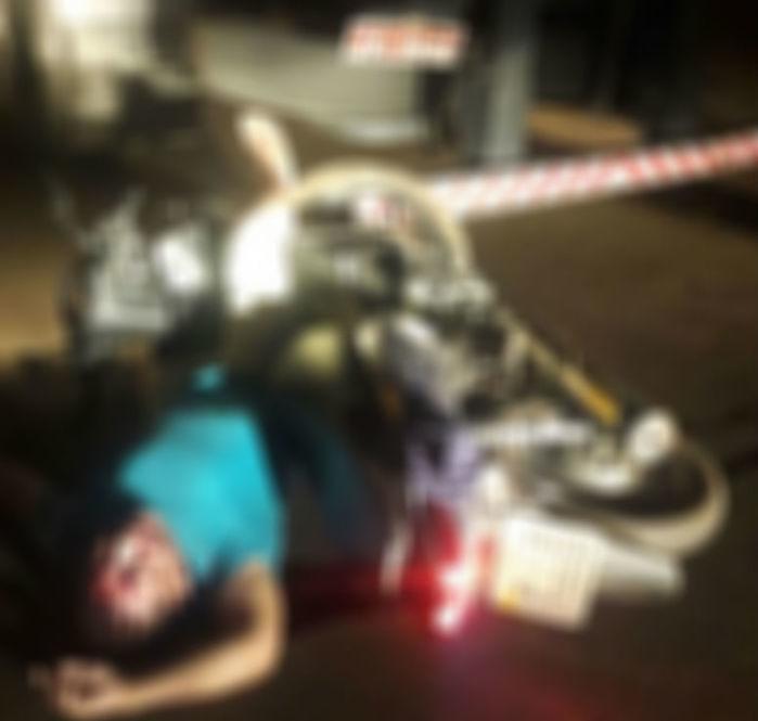 Corpo de agente de saúde morto em acidente em União (Crédito: Realidadeemfoco)