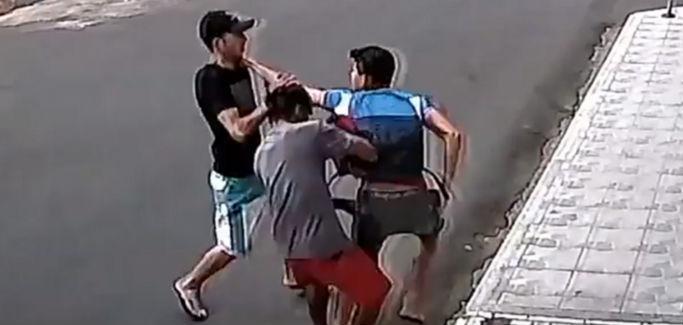 Polícia Militar prende bandidos que assaltaram jovem em Picos (Crédito: Reprodução)