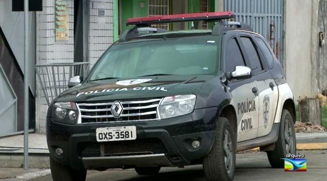 """Polícia Civil cumpre mandados de prisão em ações da  operação """"Diamante Negro"""" (Crédito: TV Mirante/G1 Maranhão)"""