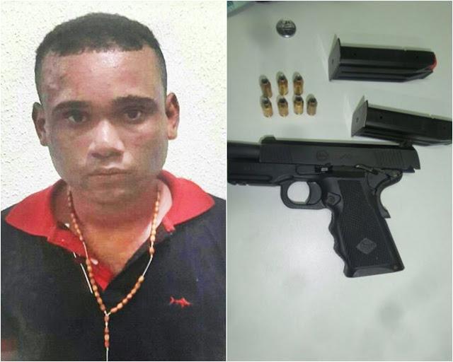 Polícia recaptura fugitivo da Central de Flagrantes de Parnaíba (Crédito: Reprodução)