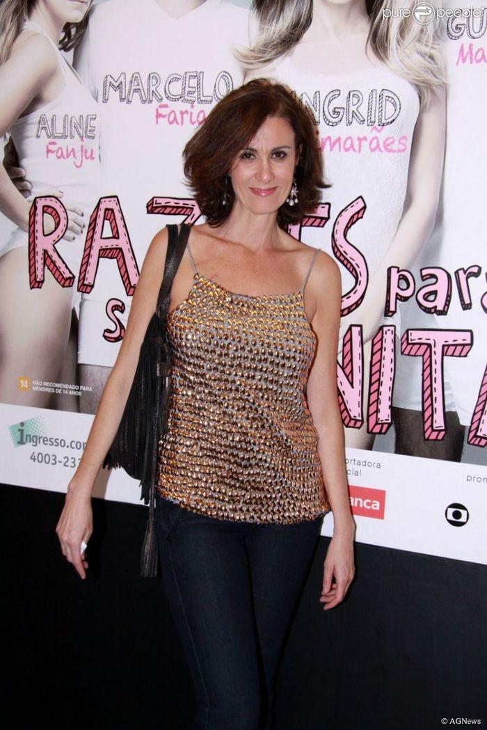 Aos 53 anos, morre atriz Márcia Cabrita, após luta contra o câncer (Crédito: Reprodução)