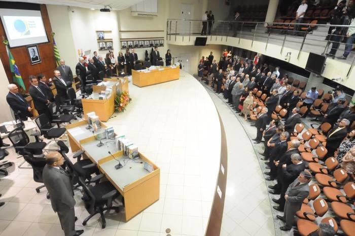 Homenagem ocorreu no  Encontro do Colégio de Corregedores dos Tribunais Regionais Eleitorais  (Crédito: Facebook)