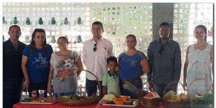 Escola João Amilton desenvolve projeto sobre alimentação saudável