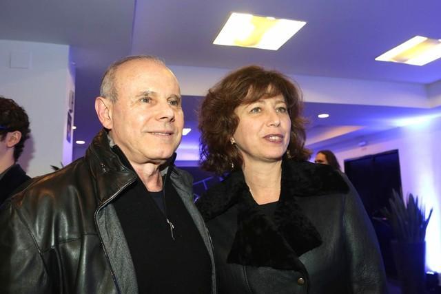 Guido Mantega ao lado da esposa Eliane Berger (Crédito:  Greg Salibian/Folhapress)