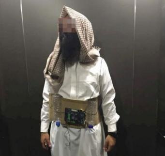 Homem é preso após usar fantasia de 'homem-bomba' no Halloween