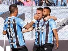 Grêmio e Vitória empatam em jogo neste domingo em Caxias do Sul