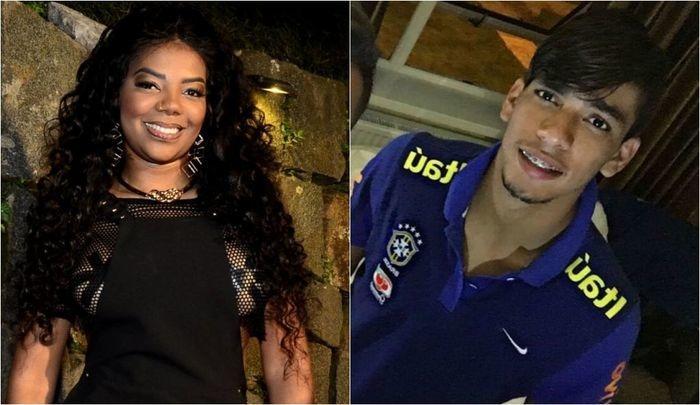 Ludmilla faz fila andar e vive affair com jogador do Flamengo