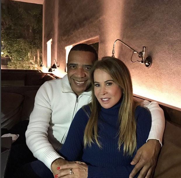 Zilu e o noivo Marco Antonio Teles (Crédito: Reprodução/ Instagram )