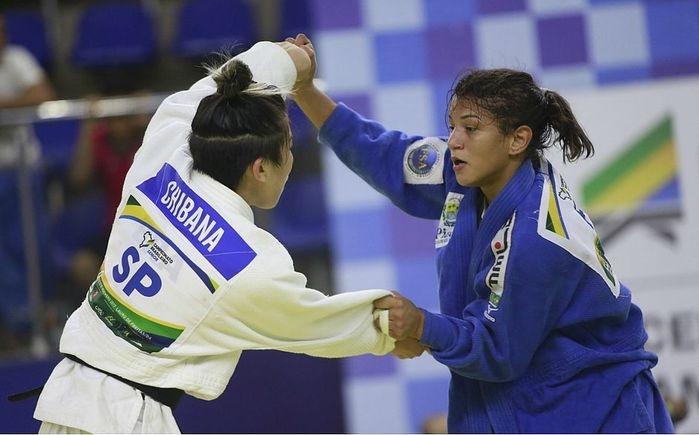 Piauiense derrotou Larissa Farias (Crédito: Victor Lima/CBJ))