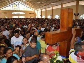Encontro dos Santos é realizado em Santa Cruz dos Milagres. Vídeos