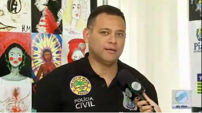 Delegado Riedel Batista (Crédito: Rede Meio Norte)