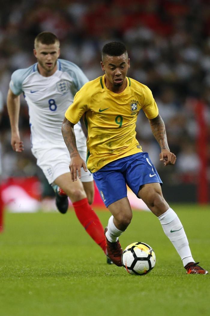 Brasil enfrentou a Inglaterra