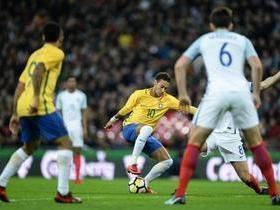 Brasil empata em 0 a 0 com a Inglaterra em Londres
