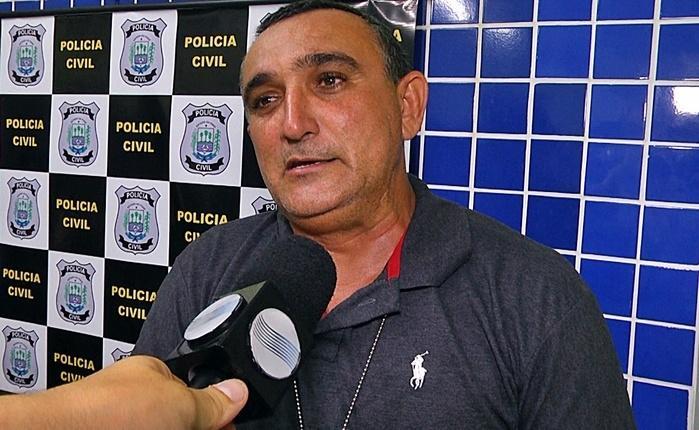 Robinson Castillo, policial civil que realizou a recaptura.  (Crédito: Kairo Amaral)