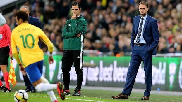 Amistoso entre Brasil e Inglaterra (Crédito: Getty Images)