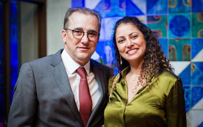 Ministro Admar Gonzaga e sua esposa Élida