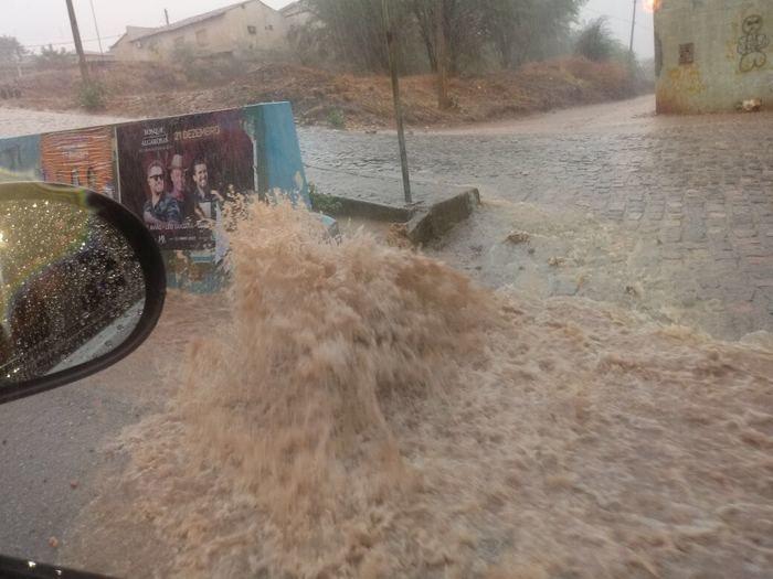 Forte chuva em São Raimundo Nonato (Crédito: Reprodução)