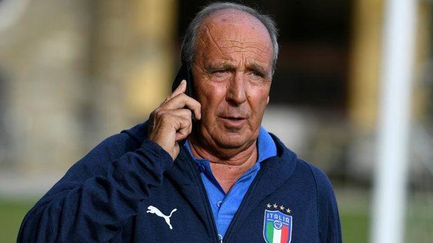 O técnico Giam Piero Ventura durante treino da Azzurra (Crédito: Getty)