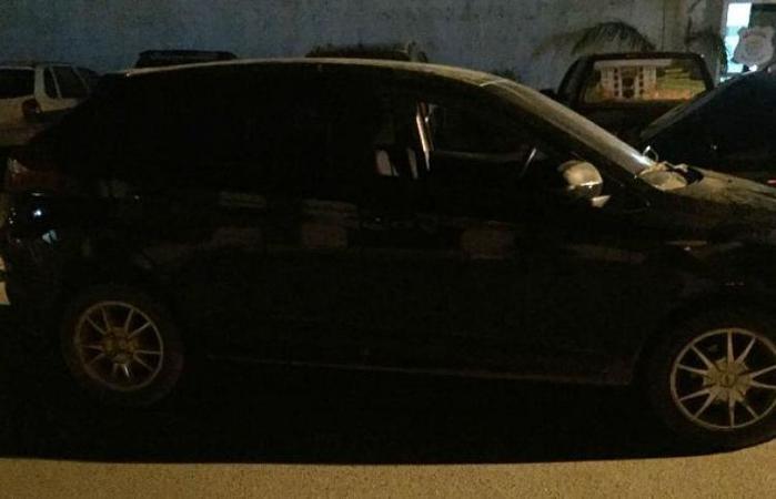 Veículo havia sido roubado em Fortaleza  (Crédito: Reprodução)
