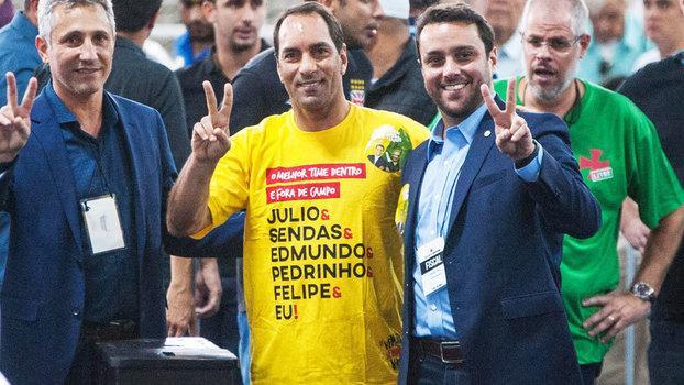 Júlio Brant é novo presidente do Vasco após decisão liminar (Crédito: Gazetta Press)