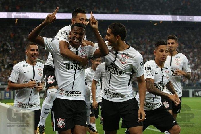 Corinthians é hepta! (Crédito: Gazeta Press)