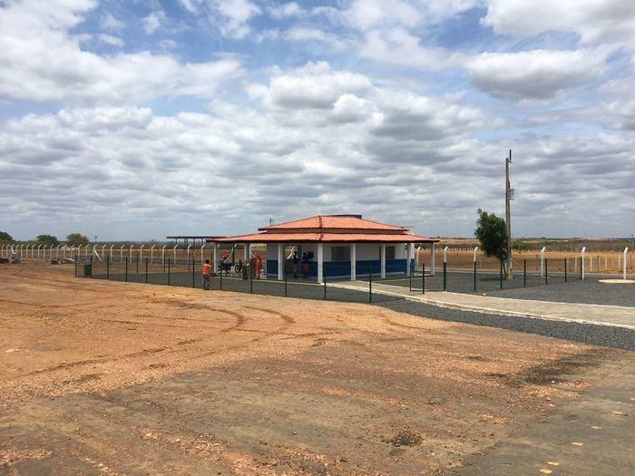Aeroporto de São João do Piauí (Crédito: Setrans)