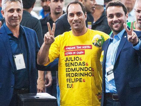 59807043a8 Justiça anula urna e tira vitória de Eurico Miranda no Vasco