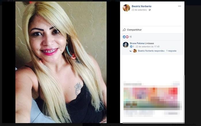 Mulher morreu após cair de sacada de varanda (Crédito: Reprodução/ Facebook )