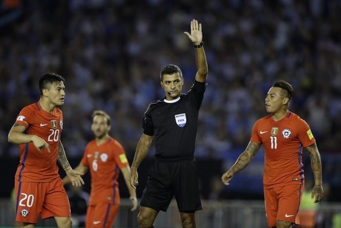 Sandro Meira Ricci estará na Copa do Mundo do ano que vem (Crédito: AP)