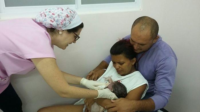 1.321 mães já tiveram seus filhos de parto natural no local (Crédito: Reprodução)