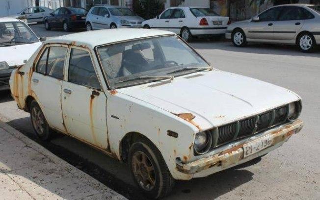 Carro deixado em estacionamento é localizado (Crédito: Reprodução/Flash Info NG  )