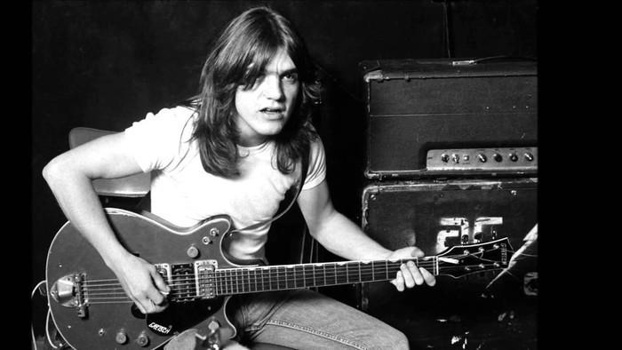Malcolm Young, guitarrista do AC/DC (Crédito: Reprodução)