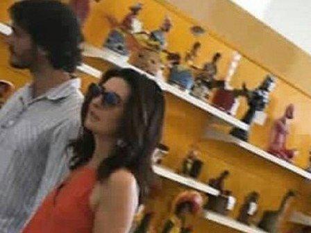 Fátima Bernardes passa final de semana com namorado no Recife