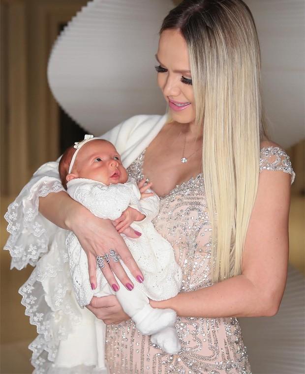 Eliana e a filha, Manuela (Crédito: Reprodução)