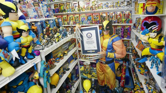 Americano bate recorde com maior coleção de itens sobre os X-Men (Crédito: Reprodução)