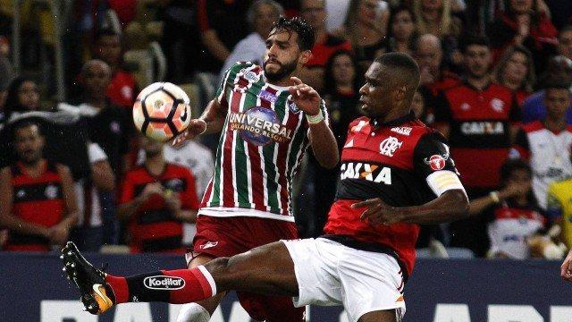 Flamengo e Fluminense (Crédito: Reprodução)