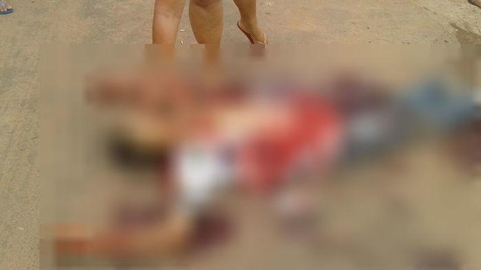 Carlos André foi executado (Crédito: Reprodução)