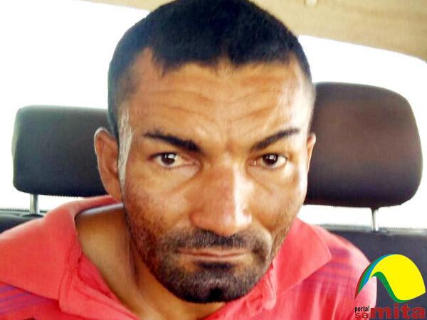 Julimar Gomes é acusado de assassinar a esposa com golpes de foice (Crédito: portal samita)