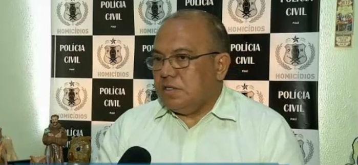 Francisco Costa, o Baretta, coordenador da Delegacia de Homicídios (Crédito: Rede Meio Norte)