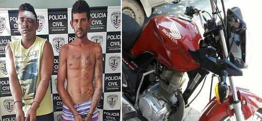 Dupla furta moto e mata pedestre na fuga em Araioses-MA