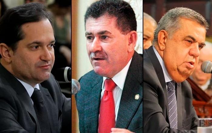 Edson Albertassi, Paulo Melo e Jorge Piccian