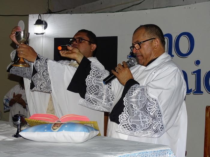 Padre Jerônimo de Jatobá do Piauí e Padre Leandro de José de Freitas-PI (Crédito: Tony Sobrinho)