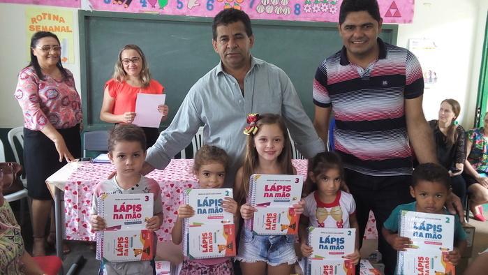 Prefeito municipal Zé Carlos e o secretário municipal de educação de Jatobá Joseano Oliveira (Crédito: Tony Sobrinho)
