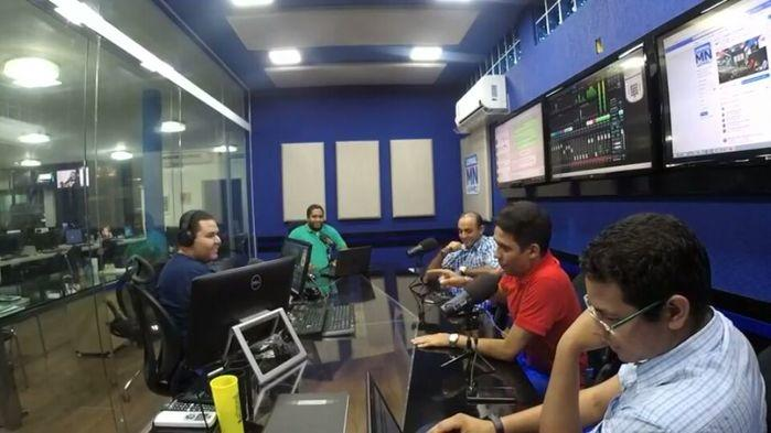 Genivaldo Campelo,  participou do programa FeedNoite, da Rádio Jornal Meio Norte