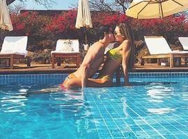 Enzo Celulari comemora 4 meses de namoro com filha de bilionário