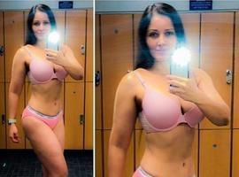 Nana Gouvea mostra boa forma de lingerie e anuncia filme com nudez