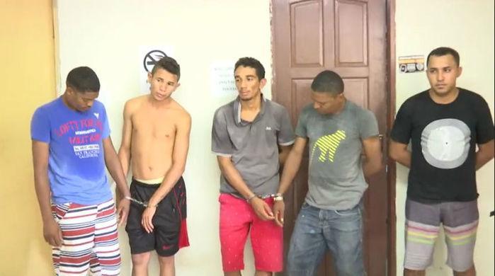 Suspeitos de Timon presos na BR-316 em Caxias (Crédito: Sinal Verde )