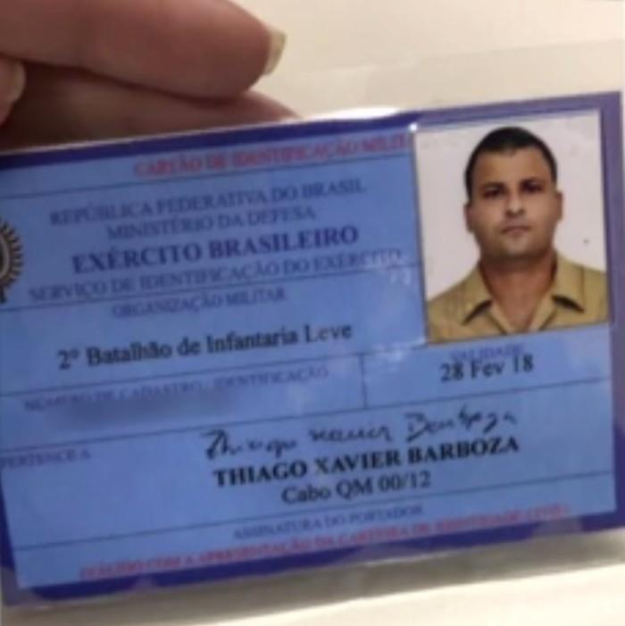 Músico tornou-se militar há um ano e serve no 2º Bil em São Vicente, SP (Crédito: Reprodução)